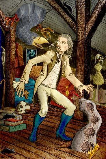 Edgar Allan Poe by jpoulos2561
